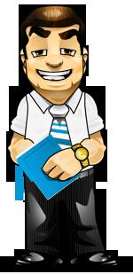 Businessman on Profitability