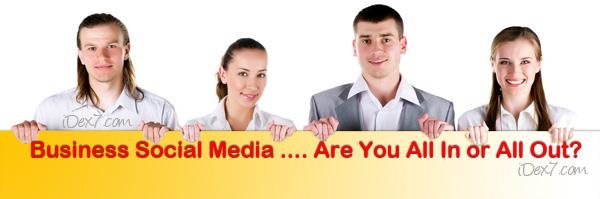 iDex7 Business social media definition
