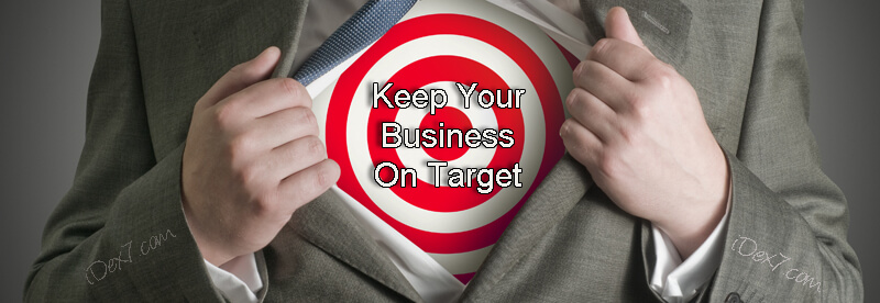 Buying a small business? Then keep it on target
