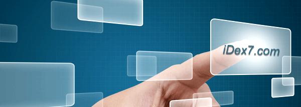 iDex7 website focus on Business Start Up