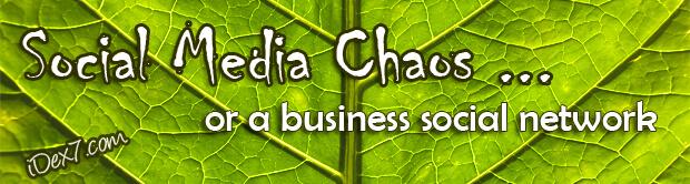 Build a social media network or social media chaos
