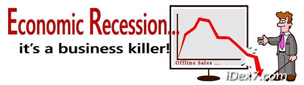 Economic Recession Sales Graph