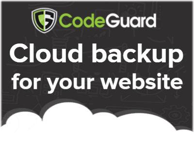 iDex7 - Codeguard Backups