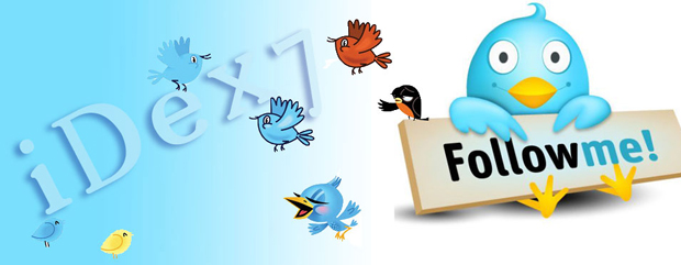 Social Media Netowrking - iDex7 twitter