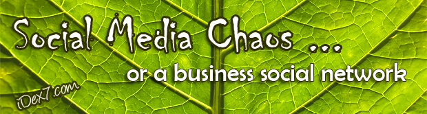 Build a social media network or social media chaos